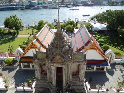バンコク2013.5暁の寺大仏塔塔上からの眺め3