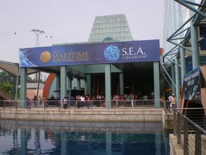 シンガポール2013.3マリタイムミュージアム外観