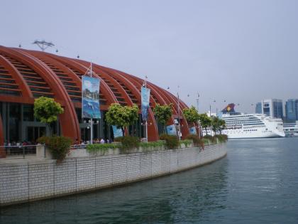 シンガポール2013.3マリタイムミュージアム外観3