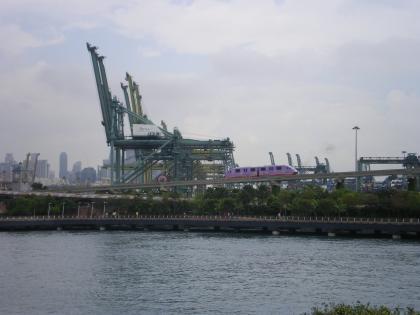 シンガポール2013.3海を渡るセントーサエキスプレス