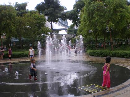シンガポール2013.3セントーサ島プルリンク噴水
