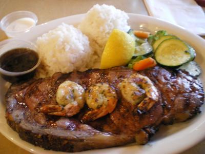 ハワイ2012.7・2日目夕食
