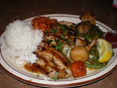ハワイ2012.7・3日目夕食
