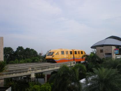 シンガポール2013.3セントーサエキスプレスビーチ駅