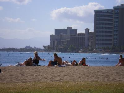 ハワイ2012.7・4日目ビーチ①