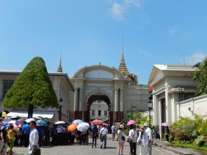 バンコク2013.5エメラルド寺院入口
