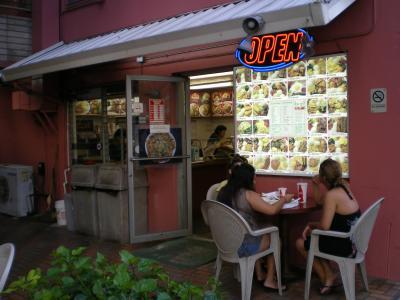 ハワイ2012.7・4日目夕食MeBBQ店舗