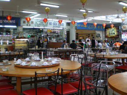 シンガポール2013.3ノーサインボード店内