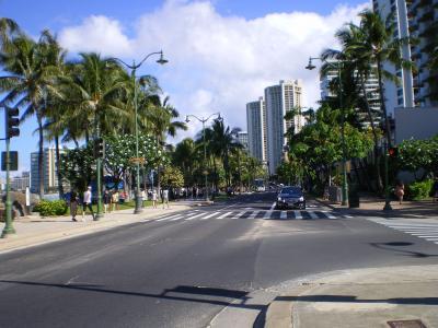 ハワイ2012.7・5日目散策(カラカウア大通り)