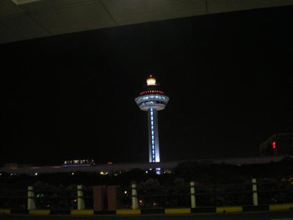 シンガポール2013.3チャンギ空港管制塔