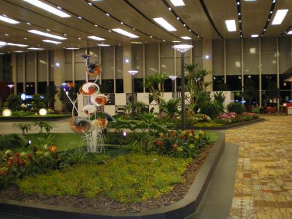 シンガポール2013.3チャンギ空港植栽