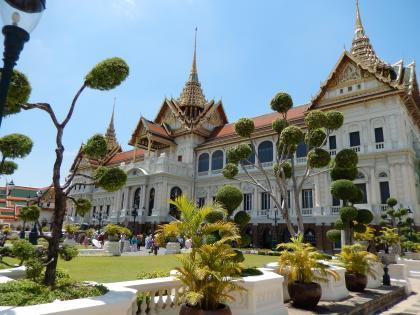 バンコク2013.5王宮チャクリーマハプラサート宮殿