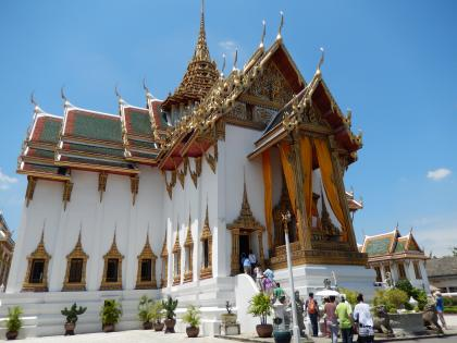 バンコク2013.5王宮ドゥシット・マハ・プラ・サート宮殿