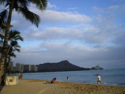 ハワイ2012.7・5日目夕食ショアバードからワイキキ