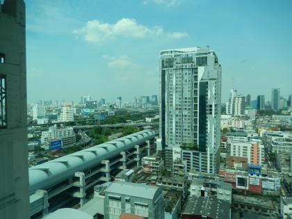 バンコク2013.5バイヨークホテルからの眺望1