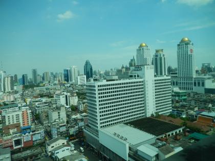 バンコク2013.5バイヨークホテルからの眺望2