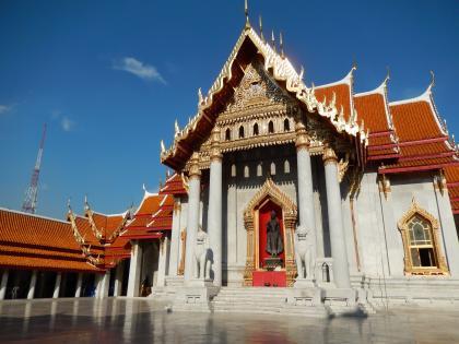 バンコク2013.5大理石寺院