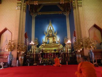 バンコク2013.5大理石寺院本尊