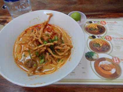 バンコク2013.5カレー麺