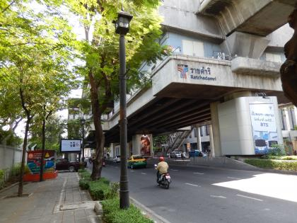 バンコク2013.5ラチャダムリー駅