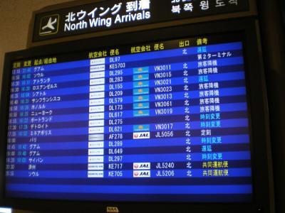 ハワイ2012.7帰国(成田到着②)