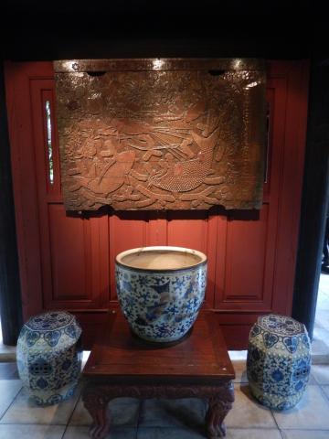 バンコク2013.5ジムトンプソン家金魚鉢