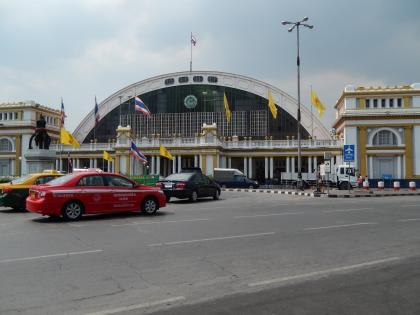 バンコク2013.5バンコク中央駅外観