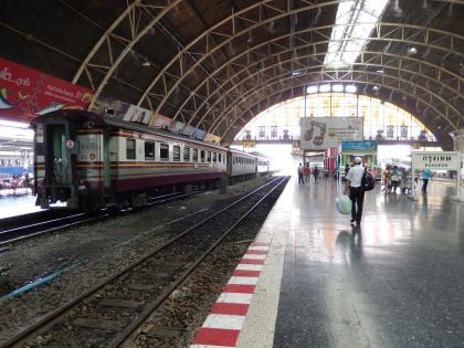 バンコク2013.5バンコク中央駅ホーム
