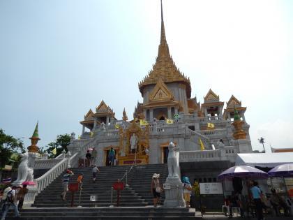 バンコク2013.5黄金仏寺院本堂