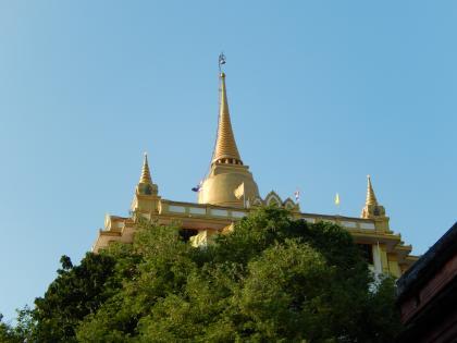 バンコク2013.5黄金の丘寺院丘の上の堂