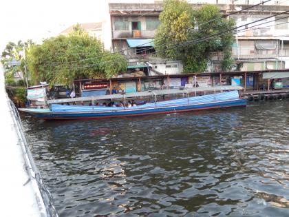 バンコク2013.5運河ボート乗船