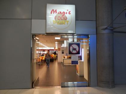 バンコク2013.5空港フードコート入口