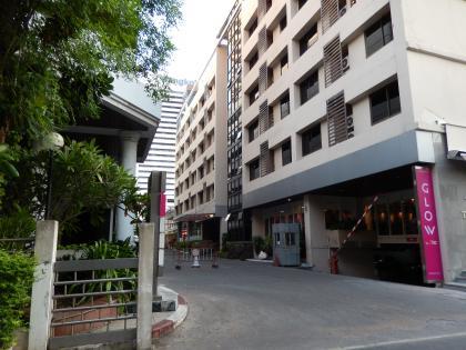 バンコク2013.5ホテル入口