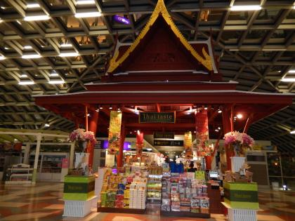 バンコク2013.5空港制限区域内土産店