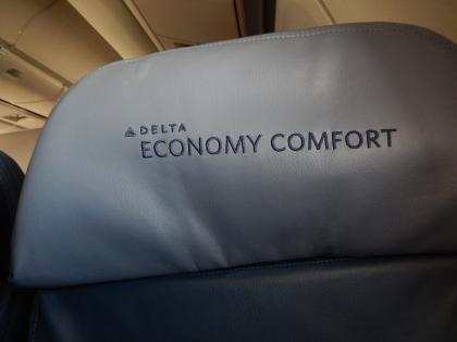 バンコク2013.5デルタ航空エコノミーコンフォート