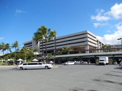 ハワイ2013.7ホノルル空港駐車場ビル
