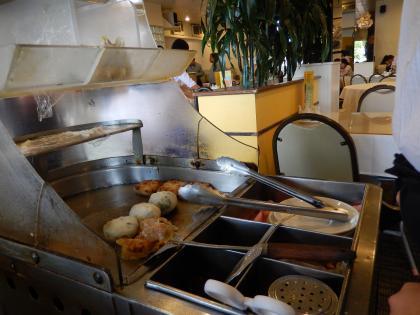 ハワイ2013.7レジェンドシーフードレストラン飲茶ワゴン