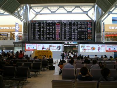 台湾2012.8成田第二ターミナル案内板