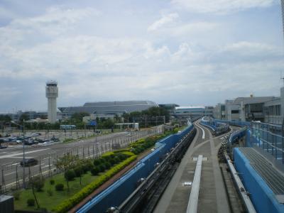 台湾2012.8桃園空港到着②