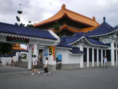 台湾2012.8地下鉄中正紀念堂駅