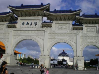 台湾2012.8中正紀念堂正門②