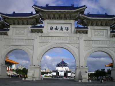 台湾2012.8中正紀念堂正門