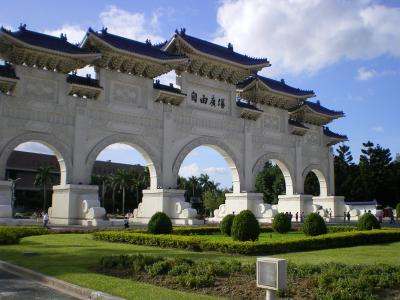 中正紀念堂正門裏