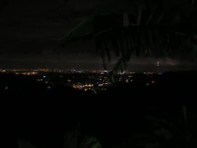 台湾2012.8猫空からの台北市街夜景