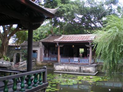 台湾2012.8林家庭園方鑑斎と舞台