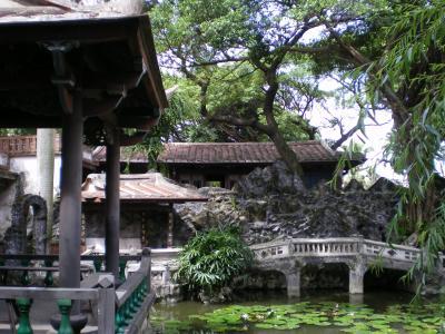 台湾2012.8林家庭園:方鑑斎隠居橋