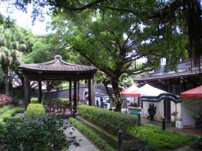 台湾2012.8林家庭園:開軒一笑亭