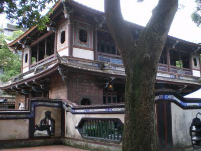 台湾2012.8林家庭園来春閣