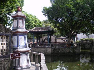 台湾2012.8林家庭園数字塔