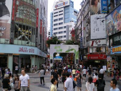 台湾2012.8西門町②